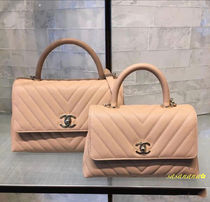 CHANEL MATELASSE Calfskin Blended Fabrics 2WAY Chain Plain Special Edition