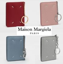 Maison Margiela Unisex Plain Leather Keychains & Bag Charms