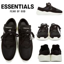 FEAR OF GOD ESSENTIALS Suede Street Style Plain Sneakers