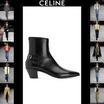 CELINE Plain Leather Boots