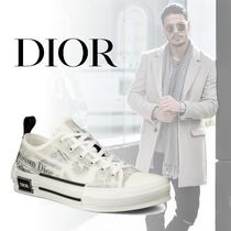 Christian Dior Blended Fabrics Street Style Sneakers
