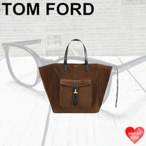 TOM FORD Casual Style Suede Blended Fabrics Street Style A4 2WAY 3WAY