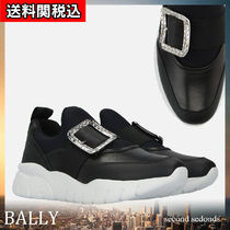 BALLY Platform Round Toe Casual Style Leather