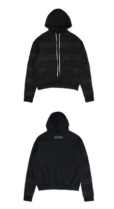 Stripes Unisex Street Style Hoodies