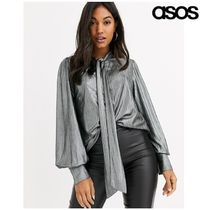 ASOS Casual Style Long Sleeves Plain Medium Party Style