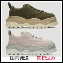 Eytys Casual Style Suede Plain Elegant Style Low-Top Sneakers