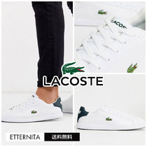 LACOSTE Plain Leather Sneakers