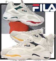 FILA Ray Casual Style Unisex Street Style Low-Top Sneakers
