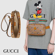 GUCCI Unisex Leather Bags