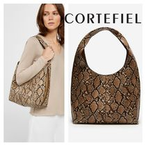 CORTEFIEL Other Animal Patterns Elegant Style Bags