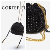 CORTEFIEL Casual Style 2WAY Chain Elegant Style Bags