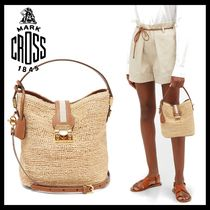MARK CROSS Casual Style 2WAY Plain Shoulder Bags
