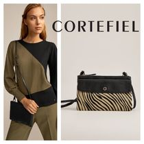 CORTEFIEL 2WAY Leather Elegant Style Bags