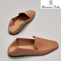 Massimo Dutti Casual Style Leather Office Style Elegant Style