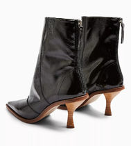TOPSHOP Casual Style Leather Ankle & Booties Boots