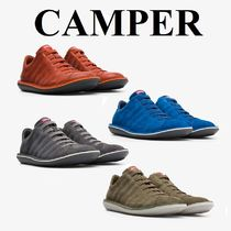 CAMPER Suede Plain Leather Sneakers