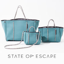 State of Escape Casual Style Unisex A4 Office Style Totes