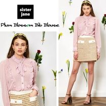 Sister Jane Casual Style Long Sleeves Shirts & Blouses