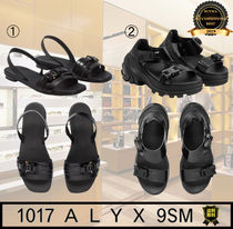 ALYX Open Toe Casual Style Plain Leather Sport Sandals