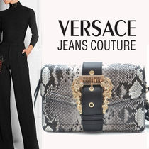 VERSACE JEANS Casual Style Party Style Elegant Style Shoulder Bags
