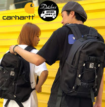 Carhartt Casual Style Unisex Street Style A4 Backpacks