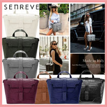 senreve Casual Style 3WAY Leather Party Style Office Style