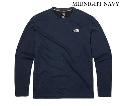 THE NORTH FACE Long Sleeve Long Sleeves Plain Long Sleeve T-shirt Logo Outdoor 2