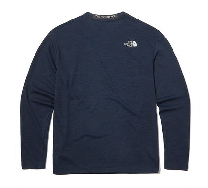 THE NORTH FACE Long Sleeve Long Sleeves Plain Long Sleeve T-shirt Logo Outdoor 3