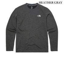 THE NORTH FACE Long Sleeve Long Sleeves Plain Long Sleeve T-shirt Logo Outdoor 15