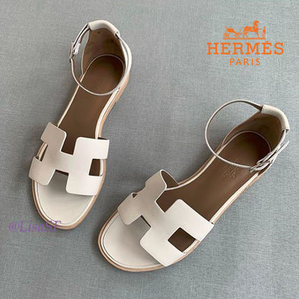 HERMES More Sandals Leather Sandals Sandal