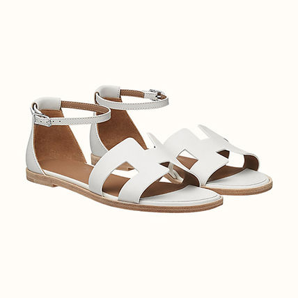 HERMES More Sandals Leather Sandals Sandal 2