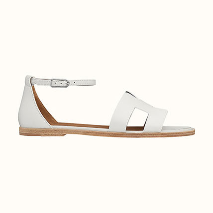 HERMES More Sandals Leather Sandals Sandal 3