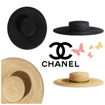 CHANEL Street Style Home Party Ideas Straw Boaters