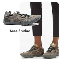 Acne Casual Style Unisex Office Style Low-Top Sneakers