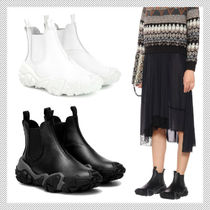 Acne Casual Style Plain Leather Ankle & Booties Boots