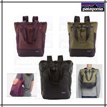 Patagonia Casual Style Unisex A4 2WAY Totes
