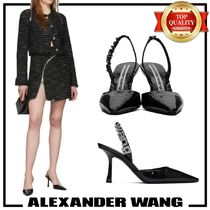 Alexander Wang Casual Style Studded Leather Pin Heels