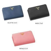 PRADA Collaboration Leather Folding Wallets