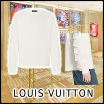 Louis Vuitton 2020 SS ENVELOPE LONG SLEEVE T-SHIRT blanc long sleeve