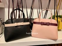 kate spade new york Saffiano 2WAY Plain Elegant Style Satchels