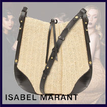 Isabel Marant Casual Style Plain Party Style Elegant Style Totes