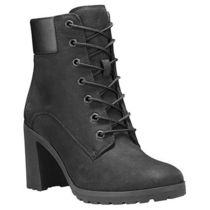 Timberland Lace-up Street Style Plain Leather Logo Lace-up Boots