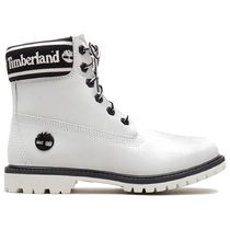 Timberland Street Style Plain Leather Logo Ankle & Booties Boots