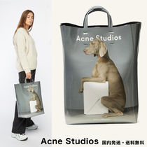 Acne Baker out Casual Style A4 2WAY Other Animal Patterns PVC Clothing
