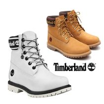 Timberland Street Style Plain Leather Ankle & Booties Boots