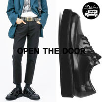 OPEN THE DOOR Loafers Plain Leather Loafers & Slip-ons