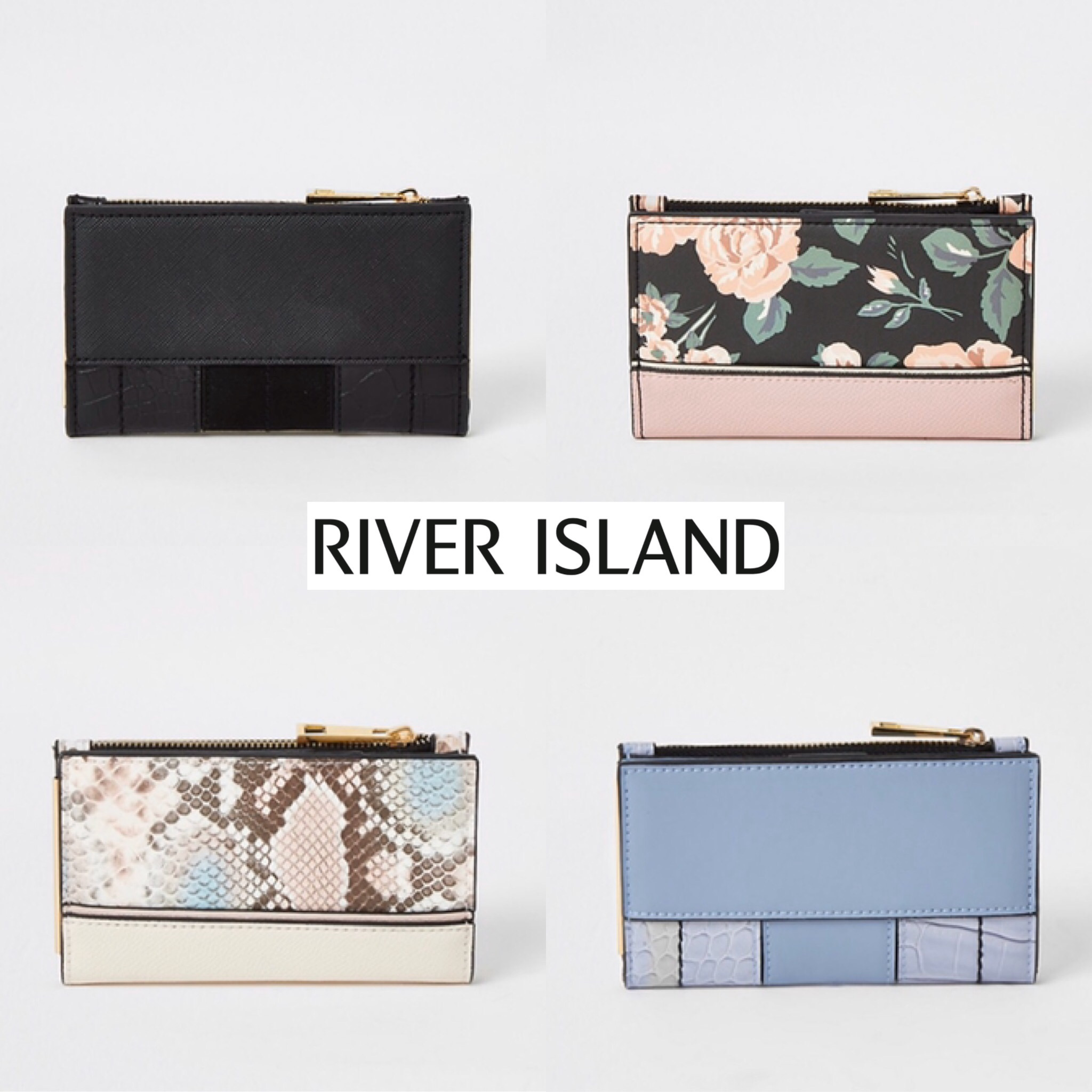 shop river island wallets & card holders