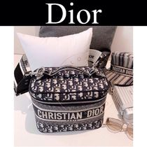 Christian Dior DIOR OBLIQUE Casual Style Blended Fabrics Street Style Handmade