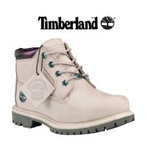 Timberland Mountain Boots Street Style Plain Leather Outdoor Boots