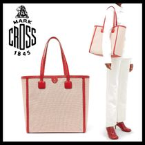MARK CROSS Casual Style A4 Plain Office Style Totes